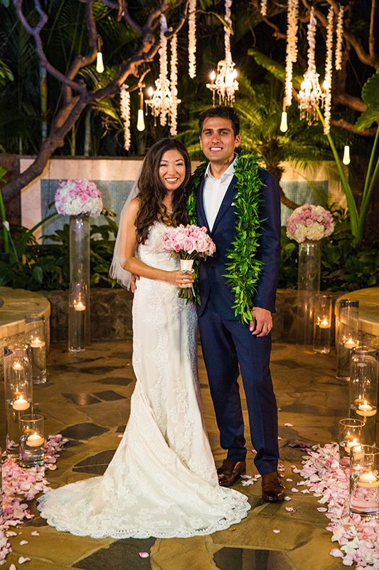 "Say your ""I do's"" at the only outdoor hydrotherapy garden on O'ahu, the Kula Wai venue at Disney's Aulani Resort in Hawaii"