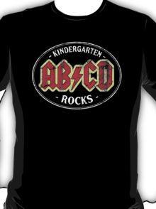 Vintage Kindergarten Rocks - dark T-Shirt