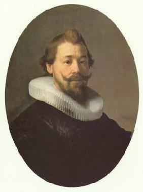 Rembrandt van Rijn - Young man with half beard