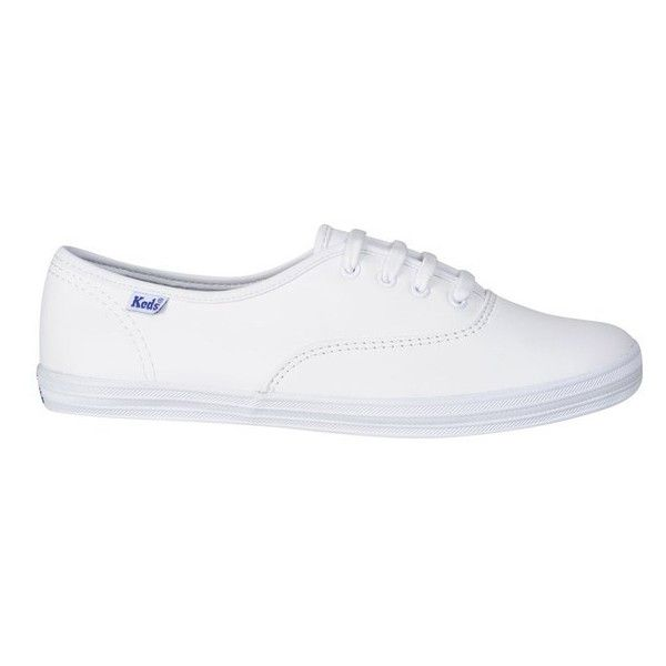 keds champion leather white oxfords womens