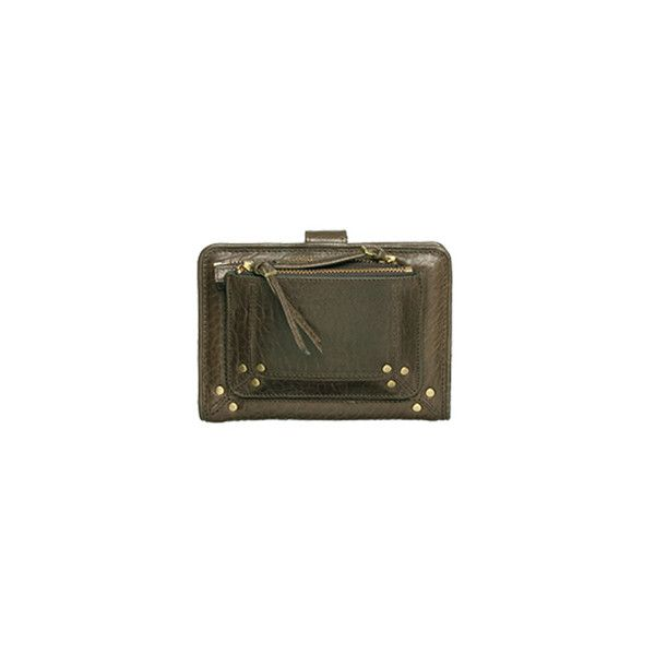 Jerome Dreyfuss Polo Wallet (£250) ❤ liked on Polyvore featuring bags, wallets, accessories, handbags, women, genuine leather wallet, snap closure wallet, jerome dreyfuss wallet, pouch wallet and leather pouch wallet