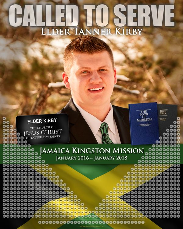 138 best LDS Missionary Countdown Calendars and Posters images on ...