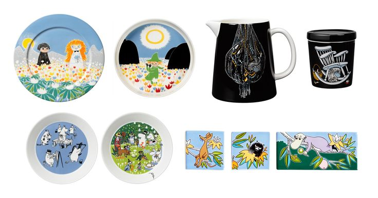 Moomin.com - New Moomin products by Arabia, autumn 2016