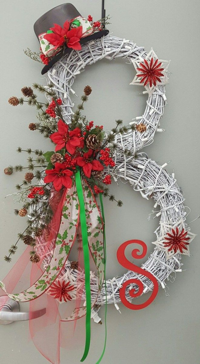Adorable Christmas Wreath Ideas For Your Front