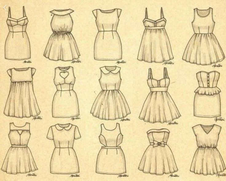 Outfit drawings!