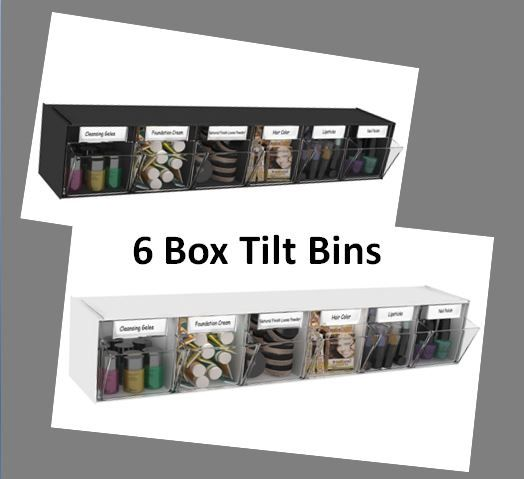 Our 6 Box Tilt Bins