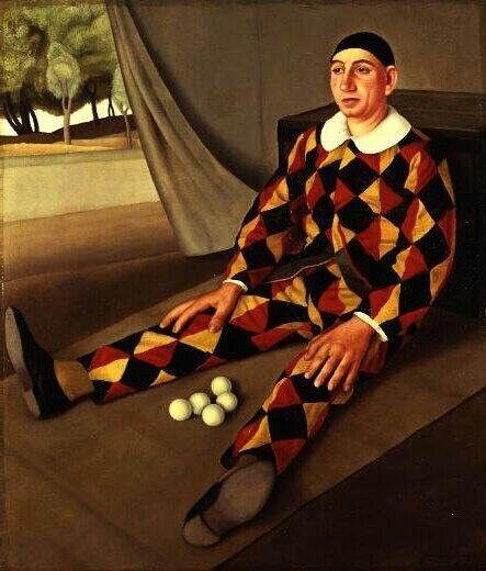 Giocoliere 1926__Antonio Donghi