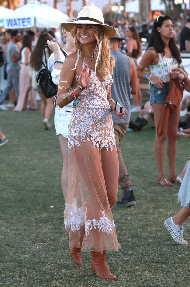 Here's What Everybody Wore To Coachella This Year (So Far)