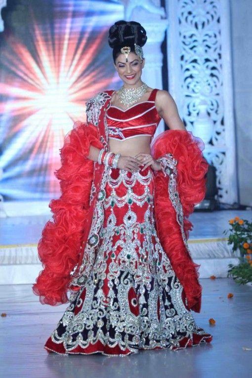 Sushmita Sen in Rohit Verma on IndianWeddingSite.com