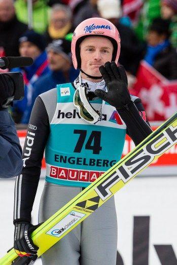Skispringer Severin Freund | FIS Skispringen Weltcup | Engelberg / Schweiz | Fotograf Kassel