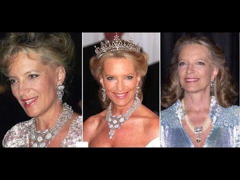 Princess Michael of Kent Sparkling Necklaces-British Royal Family