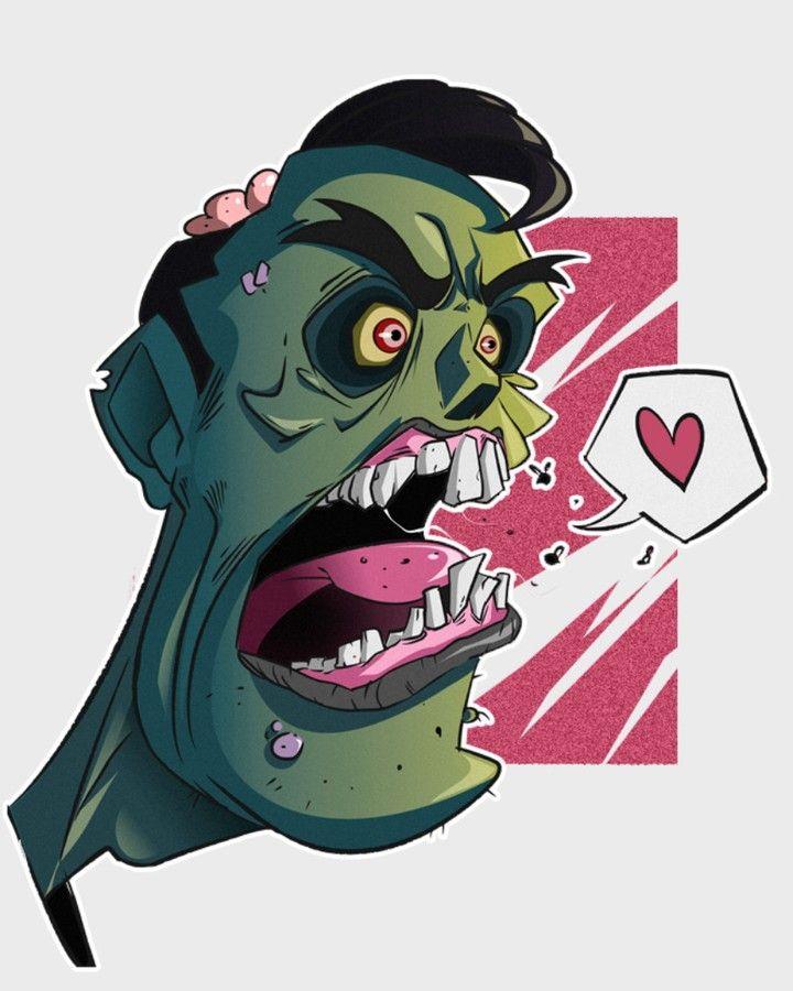 #zombieapocalypse #zombiemode #zombie #zombielove #love #brokenheart