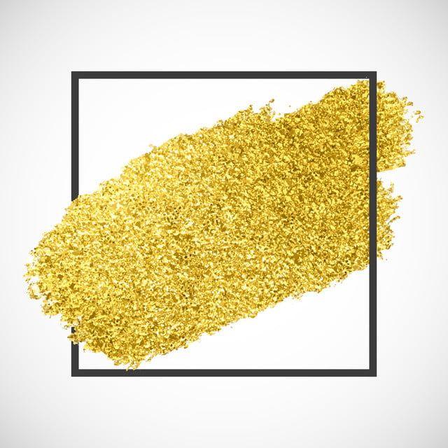 خط الذهب التألق على إطار أسود المتجه خلفية ذهب Png والمتجهات للتحميل مجانا Gold Glitter Background Glitter Frame Frame Border Design