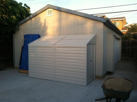 Arrow Yard Saver 4 ft. x 10 ft. Metal Storage Building YS410 at The Home Depot - Mobile