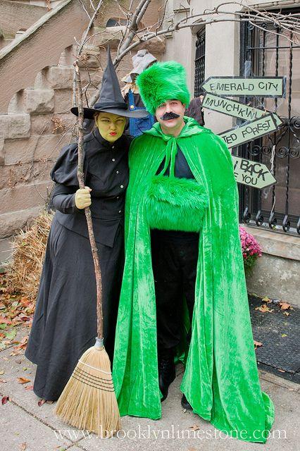 Brooklyn Limestone: Halloween 2012: I'll get you my pretties... Great couple costume!