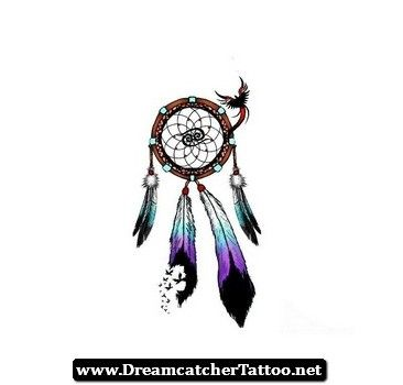 dreamcatcher tattoos with birds 07. Black Bedroom Furniture Sets. Home Design Ideas