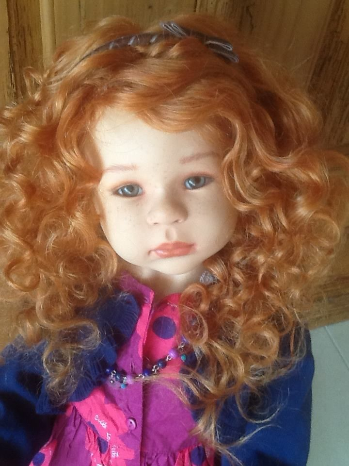 Art doll by Maja Bill-Puppen/Dolls