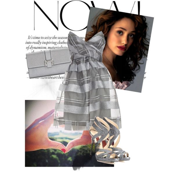 """Now! Silver & Grey"" by veradediamant on Polyvore"