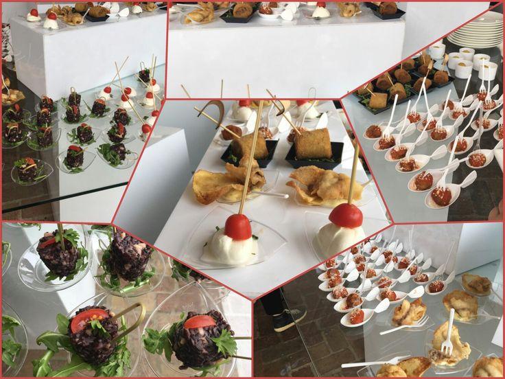 Finger food. Degustazione colorate ed invitanti per un evento da sogno - Villa Posillipo - Ristorante Matrimoni Meeting Eventi Speciali - Napoli