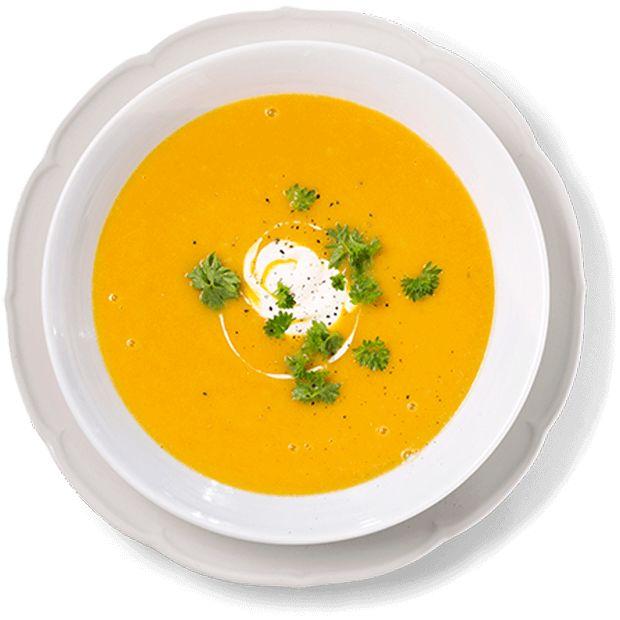 Gulrotsuppe med ingefær er en uslåelig smakskombinasjon og en perfekt middag! Oppskrift på fyldig gulrotsuppe som er rask å lage.