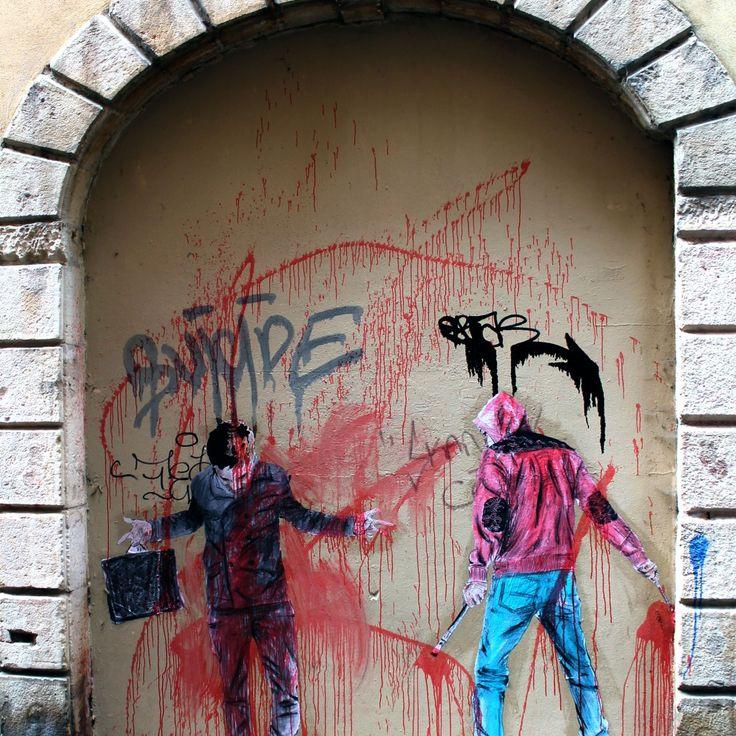 Don Mateo - street art à Lyon