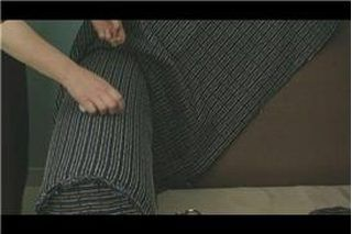 Protect the armrest on a leather couch by making an armrest cover using basic sewing skills. All you need is the ability to sew a straight-stitch on a sewing machine using a pattern based on the size of your couch. This simple do-it-yourself project takes less that one hour to sew two covers for your couch. A washable fabric lets you wash the...