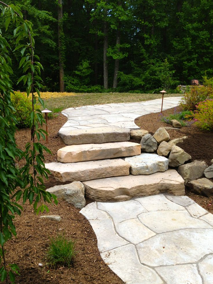 21 Best Entryways Walkways And Stone Steps Images On