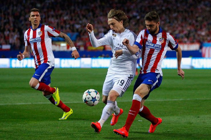 Real Madrid CF vs. Atletico Madrid http://www.best-sports-gambling-sites.com/Blog/soccer/real-madrid-cf-vs-atletico-madrid/  #Atleti #AtleticoMadrid #ChampionsLeague #LosGalacticos #RealMadridCF #soccer