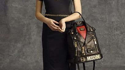 See Jeremy Scott's Awesomely Weird Jacket-Bags forMoschino | StyleCaster