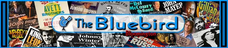 So many good concerts coming up at the Bluebird in Bloomington!