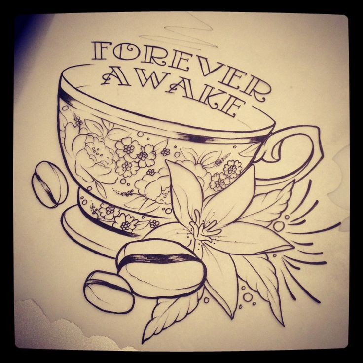 Teacup Tattoo Coffee Tattoos: 1000+ Ideas About Coffee Cup Tattoo On Pinterest