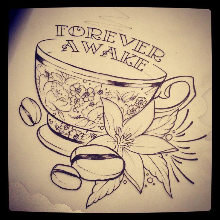1000 ideas about coffee cup tattoo on pinterest coffee tattoos tea tattoo and cup tattoo - Two and a half men coffee mug ...