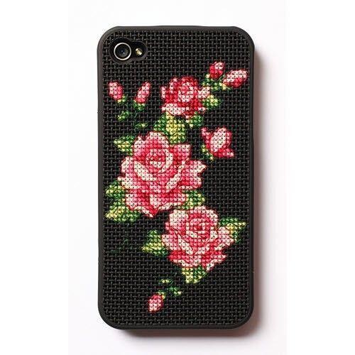 [WinCraftArt] DIY Cross Stitch iphone 4/4S 5/5S Case Black Made in Korea