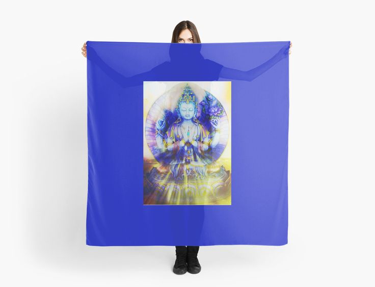 Compassion by Dorothy Berry-Lound #scarf #fashionaccessories #healingart #printforsale #spiritual #interiordecor
