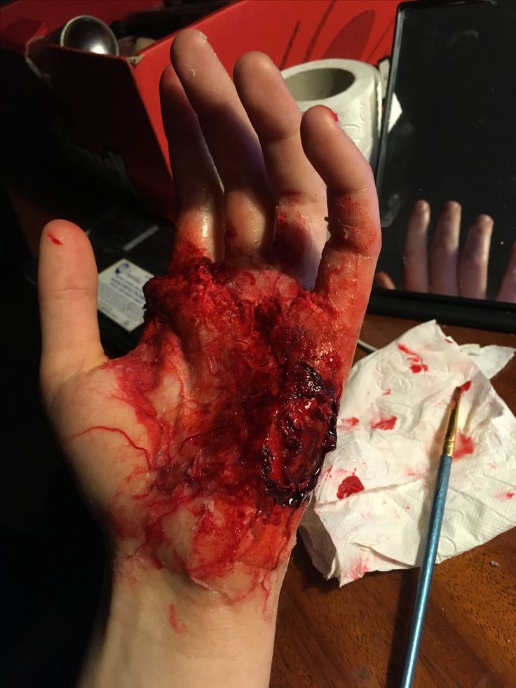Sfx special effect make-up blood horror latex fake