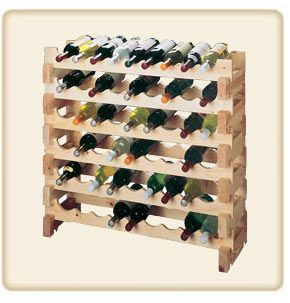 cottage wine rack