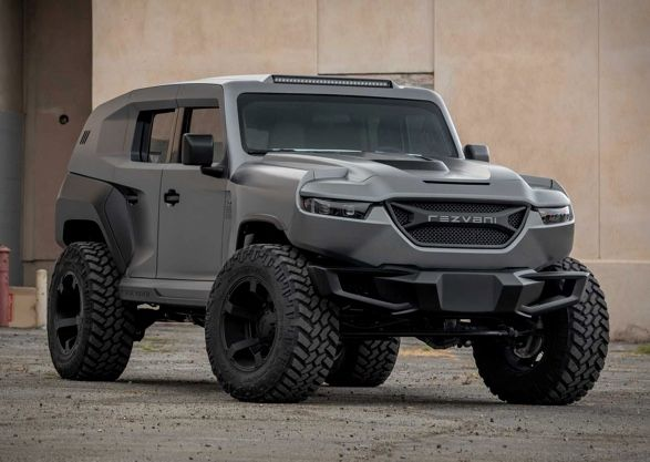 2020 Rezvani Tank With Images Tank Custom Jeep Wrangler Vehicles