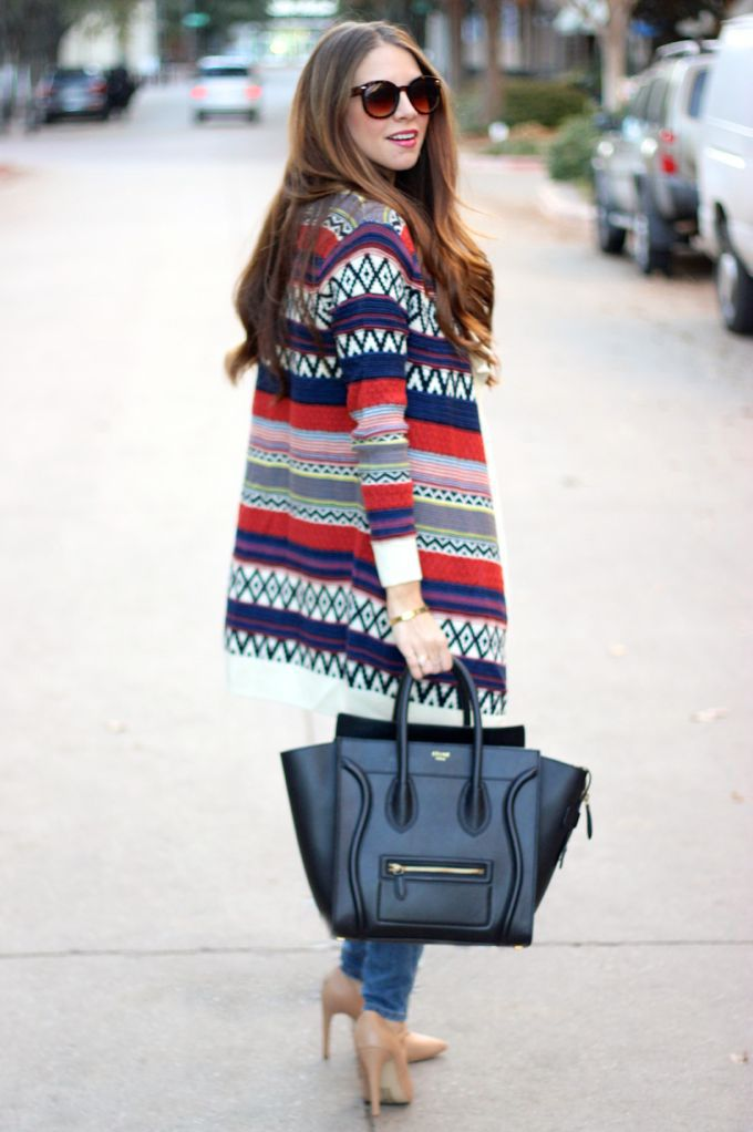 Our Holiday Sweater Cardigan on The Teacher Diva Blog!