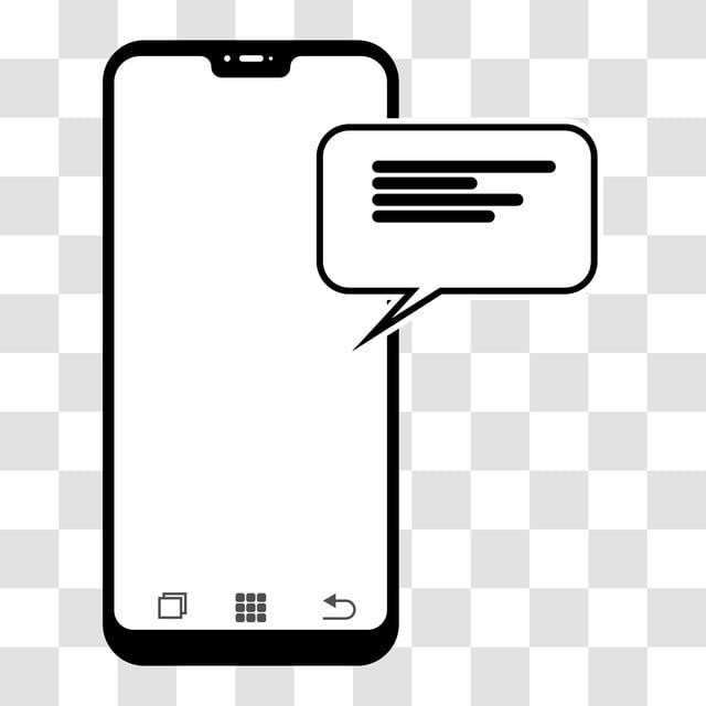 Handphone With Chat Bubble Icon Design Chat Icons Bubble Icons Handphone Png And Vector With Transparent Background For Free Download Icon Design Instagram Inspiration Posts Motion Design Animation
