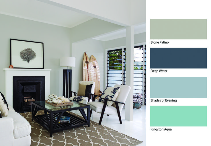 Take The Splash This Summer And Brighten Up Your Home With This Aqua Inspired Look From