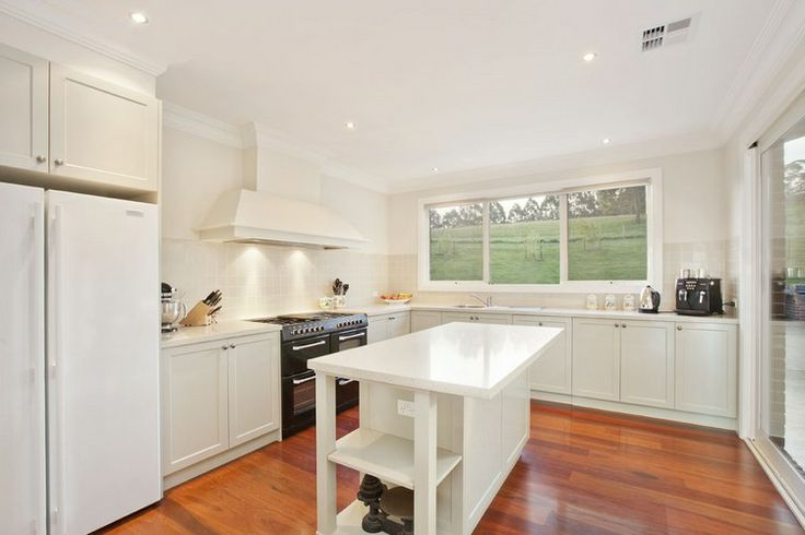A Tiled Splashback - complement the country feel of this family homestead