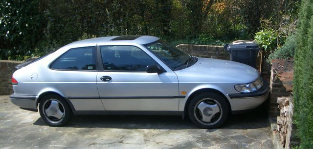 Saab 900SE Turbo in about 2008