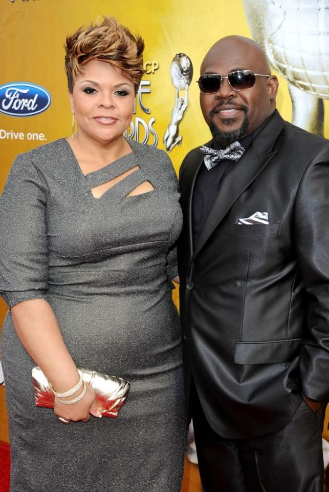 David & Tamela Mann. Tamela always looks fantastic!