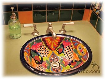 Talavera sink - to go with the toilet