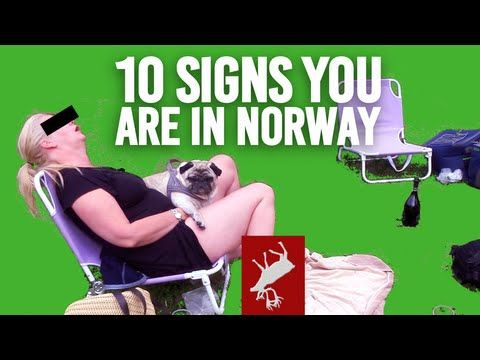 Ten Signs You're In Norway