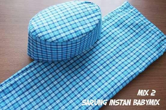 Sarung Instan Babymix Size 1-5T. Order by line @starbabyshop/Whatsapp 085733317355