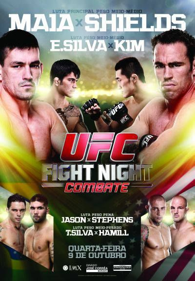 Watch UFC Fight Night: Maia vs. Shields matches live on October 9th, 2013 at 8E/5P (US Time). So, bookmark this page & be here on WEDNESDAY EVENING! tinyurl.com/l439oqya