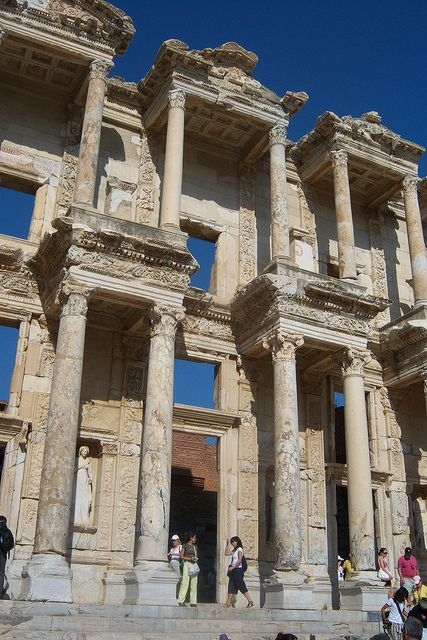 Library of Celsus in Ephesus, Turkey  Been there Already....but it is well worth a repeat visit!