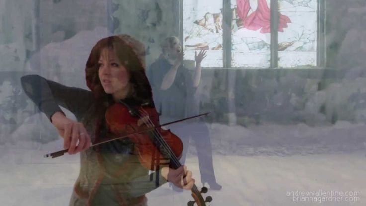Adele feat Lindsey Stirling - Set Fire To The Rain & Crystallize High Qu...