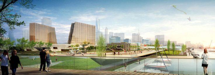 Gallery of Xin Hua Pudong Waterfront Development Winning Proposal / Inbo + NITA - 3